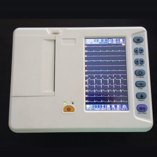 ECG-06G Portable 6 channel ECG Machine Electrocardiograph