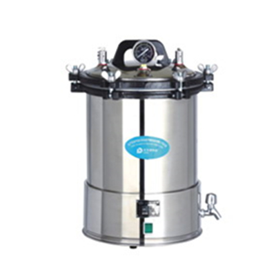 YX-18LD/24LD Portable Pressure Steam Sterilizer (Electric Heated)